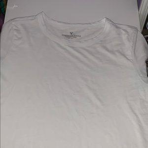 American Eagle Plain White T shirt